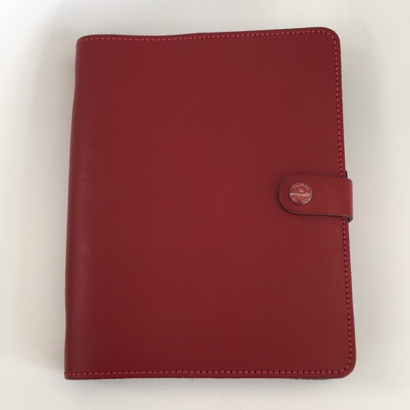Filofax Other - Red A5 original Filofax